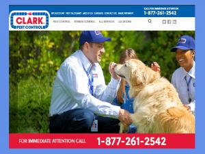 Clark Pest front page
